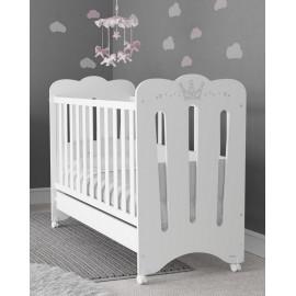 Кроватка Micuna Meghan White 120х60 + матрас Micuna