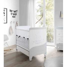 Кровать Micuna Cosmic (Микуна Космик) 120*60 white/ash