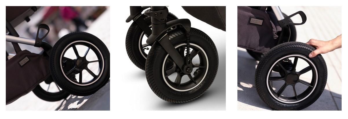 Особенности коляски Moon Nuova Air