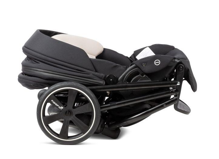 сложенное шасси коляски Noordi Luno