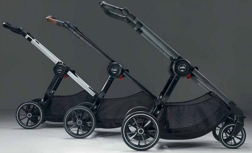 расцветки шасси коляски Cam Techno