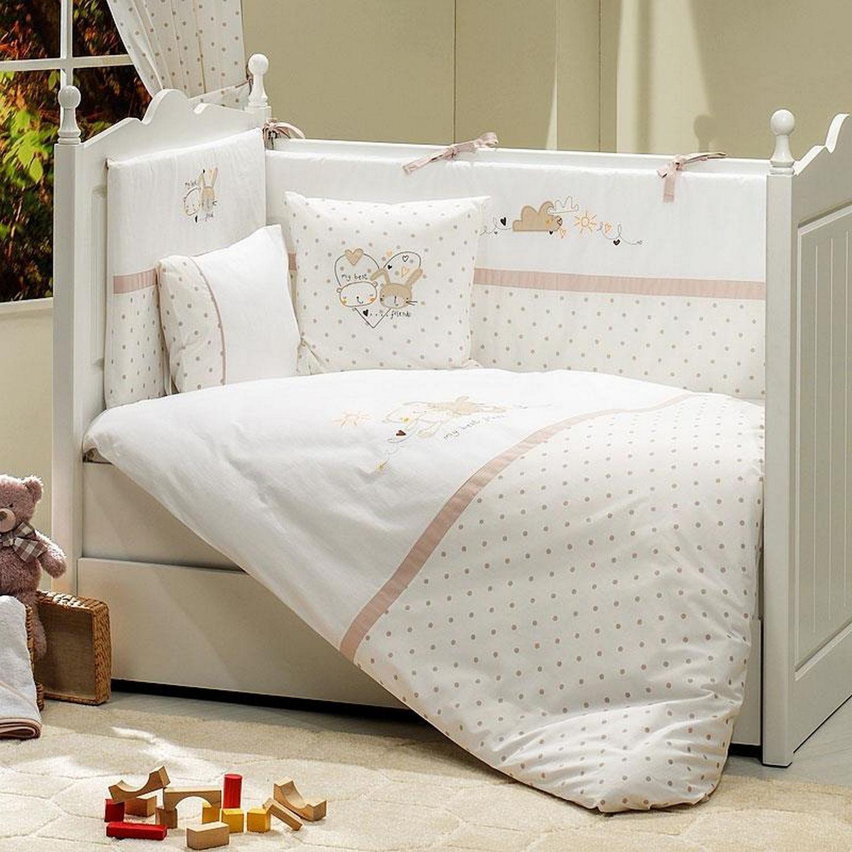 купить постельный комплект в кроватку